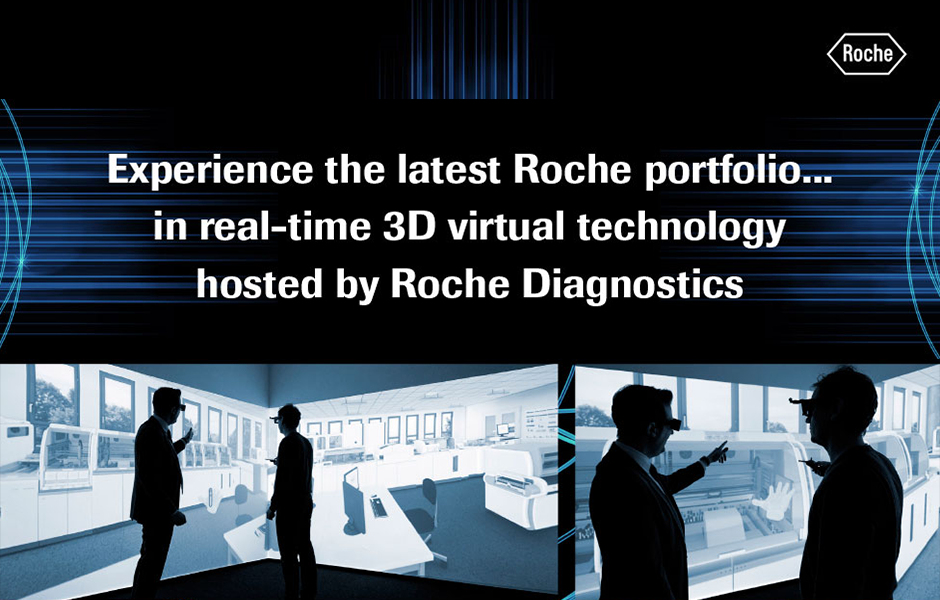 Experience the latest Roche portfolio in real-time 3D